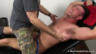 Alex Mecum Tickled Naked