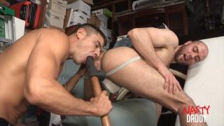 RAFAEL CARARAES shoves his monster cock in BRENDAN PHILLIPS