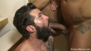 Dani Robles first bareback scene