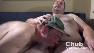 daddy fucks his chub bottom