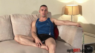 good-looking guy Chase Reynolds jerks of