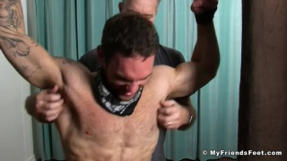 Chase lachance and Sean Holmes tied up and tickled