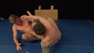 Wrestling with Igor Vanok and Libor Vanek at Str8 Hell