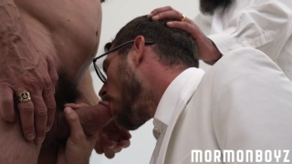 three daddy mormons fuck around