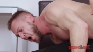 hans berlin takes massive brazilian cock up his ass
