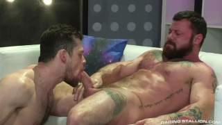 bearded ink top fucks a sexy guy's ass