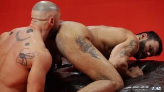 Francois Sagat's sex wish comes true with Jean Franko