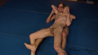 submission wrestling match with Karel Omanak and Ondra Gala