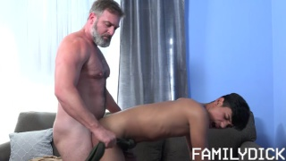 bearded daddy fucks an exchange student