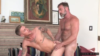 sexy daddy fucks his stepson's ass