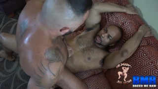mexican muscle daddy rides a BBC