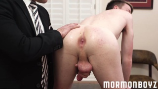 mormon lad's sexual interrogation turns dirty