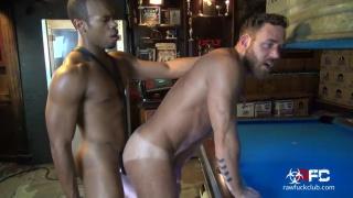 black top fucks a furry muscle stud at the Ramrod bar