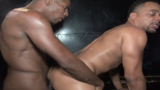 hungry cocksucker takes care of two big beautiful dicks