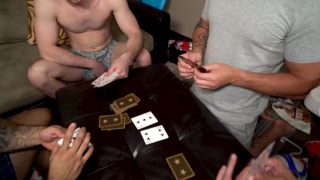 four studs play strip and fuck poker