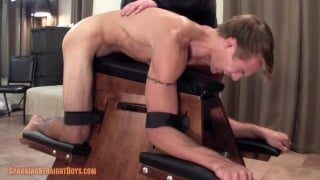 muscular 20-year-old straight frat boy get spanked