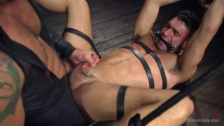 Submissive Ian Greene gets Beaten and Fucked Senseless