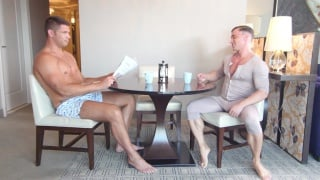 Thick Cock With My Coffee Cup with Alexander Volkov & Tyler Roberts