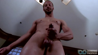 Cam Shows off his big cock and talks dirty