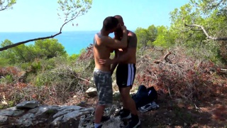 guy on vacation gets fucked by hung local