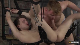 A Twink sucking his slave boy's Dick