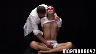 mormon boy blindfolded and tied up