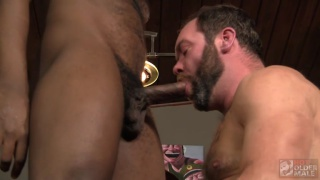 bearded daddy feasts on BBC