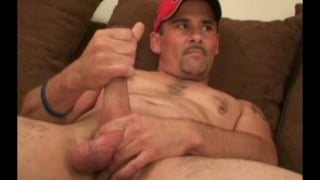 Workin men bear mature solo masturbation video