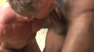gay cock sucker takes big black cock