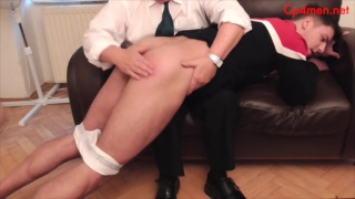 young lad gets a firm spanking