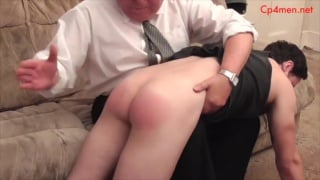 """I must not be late"" Colin hollers between spankings"