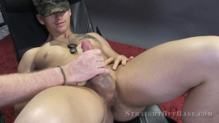marine corporal gets a helping hand