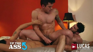 up the ass with BEN BATEMEN, ALEJANDRO CASTILLO & DAKOTA PAYNE