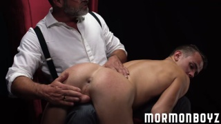 mormon daddy spanks a hot butt