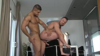 spanish muscle hunk fucks his hunk brazilian buddy