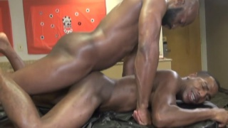 champ robinson drills ass at a bachelor party
