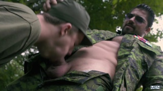 Army gay porn video