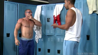 gym trainer gets propositioned in the locker room