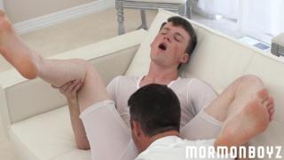 mormon boy gets sucked in his temple garments