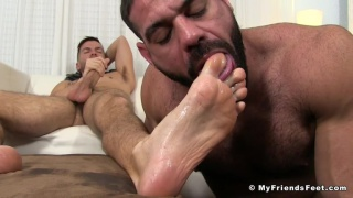 what happens when two foot worshippers get together?