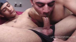 bossy latin papi enjoys a good blowjob