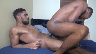 magic wood reverse-sits on XL's huge cock