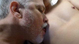 daddy fucks another smooth-skinned twink