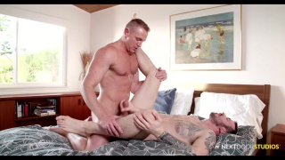 mark long gets fucked in raw bottoming moment
