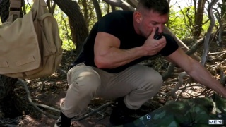 outdoor sex with Bruce Beckham & Damien Stone