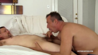 daddy Victor Cody sucks off Tristan Rule
