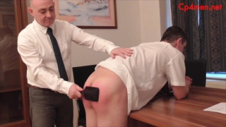 student gets his tender ass paddled
