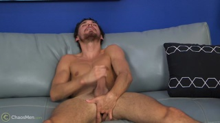 Jacob Marteny strokes at monster cock week