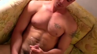 straight boy Carlos ends up showing off