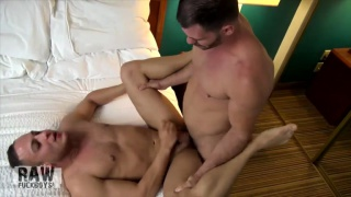 Jake wraps his ass around Brogan's raw dick